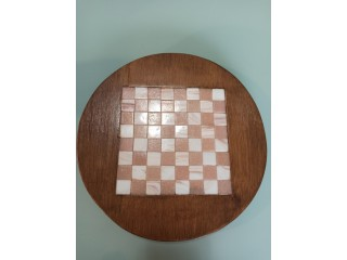 Handmade wooden coaster for Food